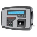 onde vende relógio de ponto biométrico impressão digital eletrônico Mortugaba